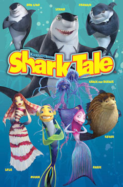 Shark Tale Group Poster