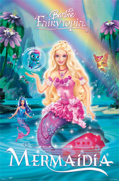 Barbie Mermadia Poster