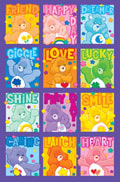 Care Bears Characters Poster