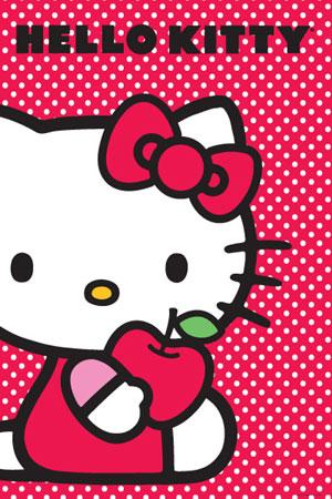 Hello-Kitty-Apple-Poster