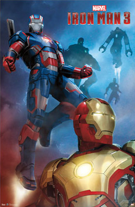 Iron Man 3 Patriot Poster