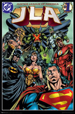 Justice League of America Poster Click Add to Cart to Order