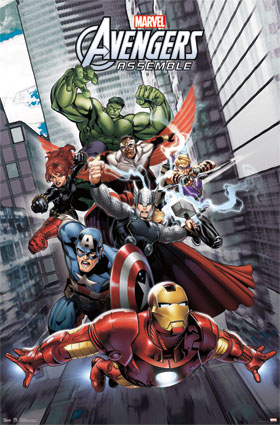 The-Avengers-Superhero-Poster