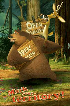 Open Season Boog and Elliot Poster