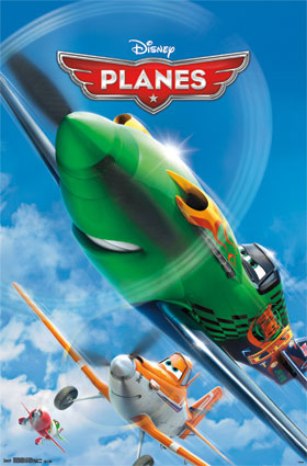 Planes One Sheet Poster