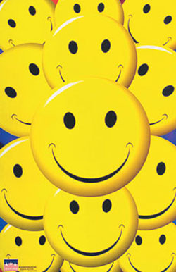 Smiley Faces Poster