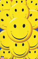 Smiley Faces poster Click Add to Cart to zoom in