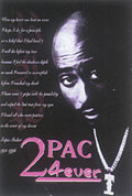 4-Ever 2Pac Blacklight Poster