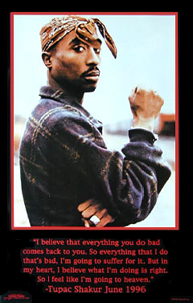 2Pac I Believe Poster
