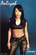 aaliyah hip-hop soul music posters