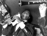 Louis Armstrong by Lisette Model Poster