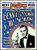 Benny Goodman and his Orchestra Poster