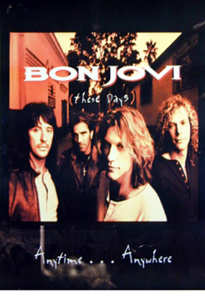 Bon Jovi These Days Poster