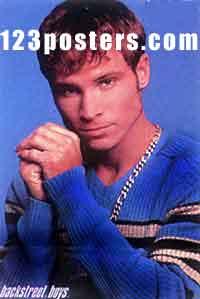 Backstreet Boys Brian Poster