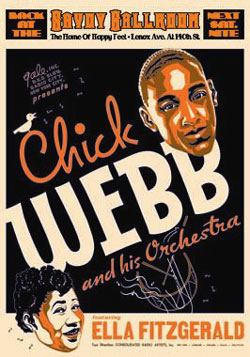Ella-Fitzgerald-and-Chick-Webb-Reproduction-Concert-Poster