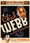 Chick Webb and Ella Poster