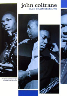 Coltrane Blue Train Sessions Poster