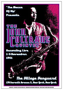 John-Coltrane-Quintet-1961-Reproduction-Concert-Poster