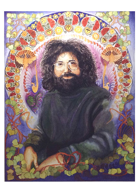 Grateful Dead Jerry Garcia Poster