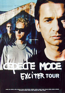 Depeche Mode Exciter Tour Poster
