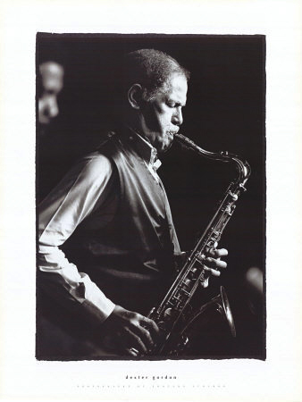 Dexter Gordon Poster Photo by Edouard Curchod Click Add to Cart to Order
