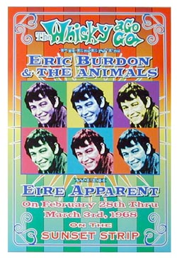 Eric-Burdon-and-the-Animals-1968-Reprint-Concert-Poster