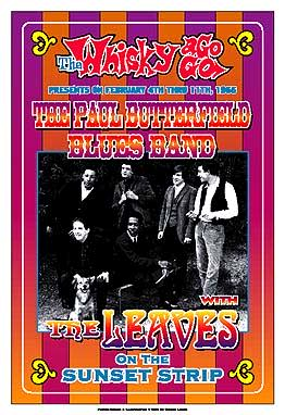 Paul-Butterfield-Blues-Band-Reprint-Concert-Poster