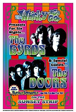 The-Byrds-and-The-Doors-1967-Whisky-A-Go-Go-Reprint-Concert-Poster