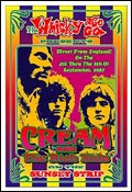 Cream Whisky A Go Go Poster