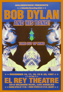 Bob Dylan Concert Poster Click Add to Cart to order.