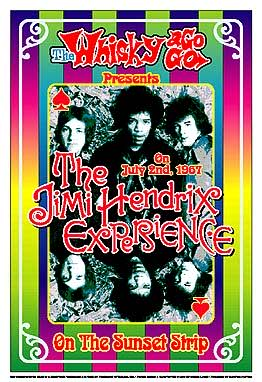 Jimi Hendrix Poster Click Add to Cart to order.