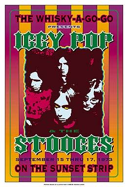 Iggy-Pop-and-the-Stooges-1973-Whisky-A-Go-Go-Reprint-Concert-Poster