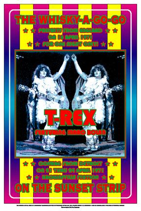 T-Rex Poster Marc Bolan Click Add to Cart to order.