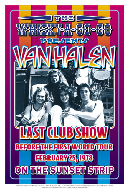 Van Halen Poster Click Add to Cart to order.