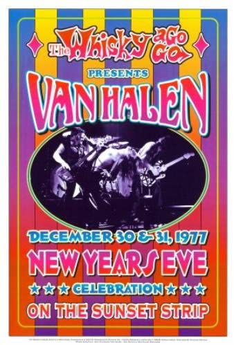 Van-Halen-1977-New-Years-Eve-Whisky-A-Go-Go-Reprint-Concert-Poster