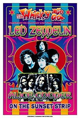 Led Zeppelin Whisky A Go Go Poster Click Add to Cart to order.