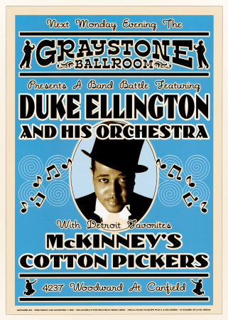 Duke-Ellington-Reproduction-Concert-Poster