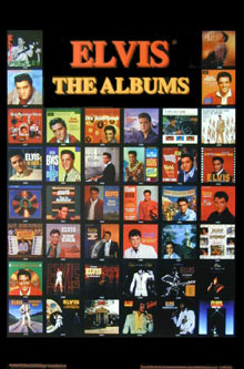 Elvis The Albums PosterClick Add to Cart to order