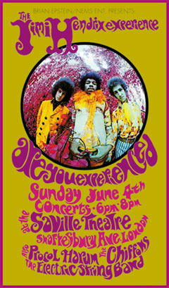 Jimi Hendrix Concert Poster Click Add to Cart to order.