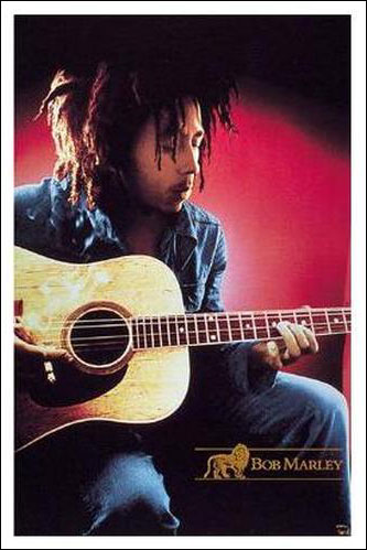 Bob Marley Songs of Freedom Poster