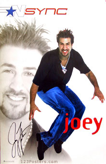 Joey NSync Poster
