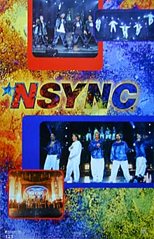 NSync In Concert Poster