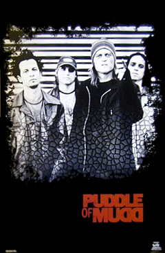 Puddle of Mudd Poster