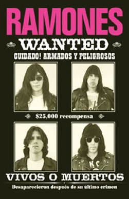 Ramones Wanted Poster