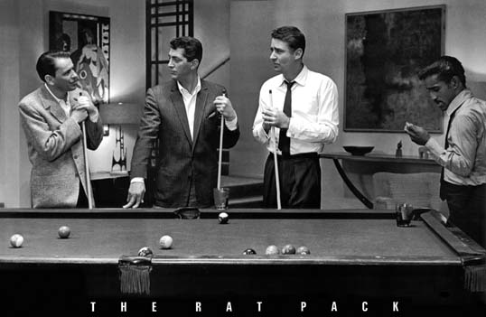The-Rat-Pack-Pool-Poster