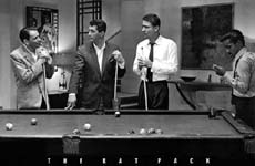 Sinatra and The Rap Pack Pool Poster