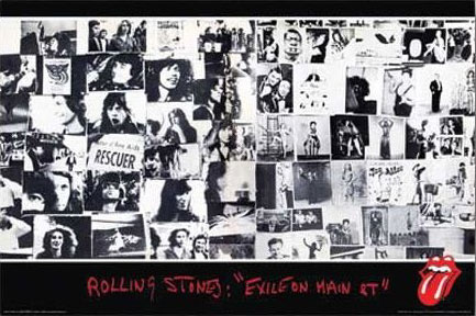 Rolling Stones Exile on Main Street Poster