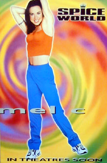 Spice World Mel C Poster