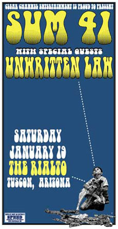 Sum-41-Unwritten-Law-Concert-Poster-Signed-and-Numbered
