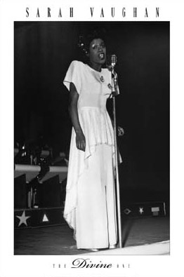 Sarah Vaughan The Divine One Poster
